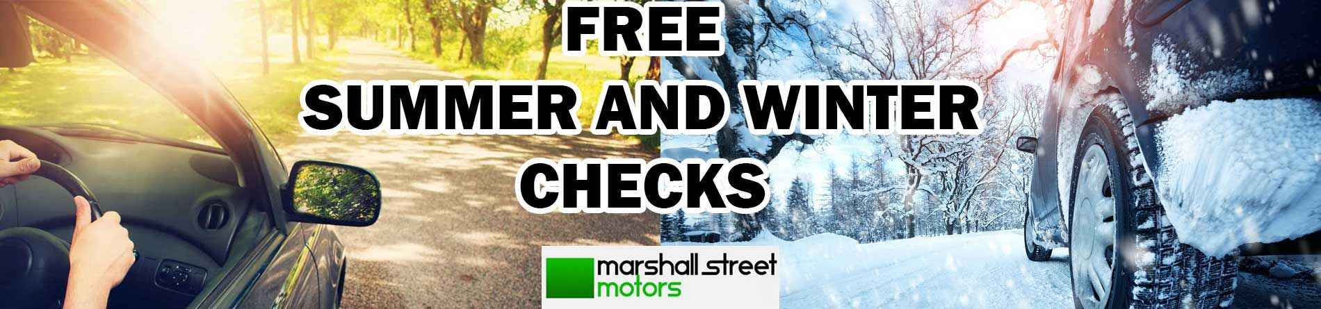 Marshal Street Motors- Summer/winter check